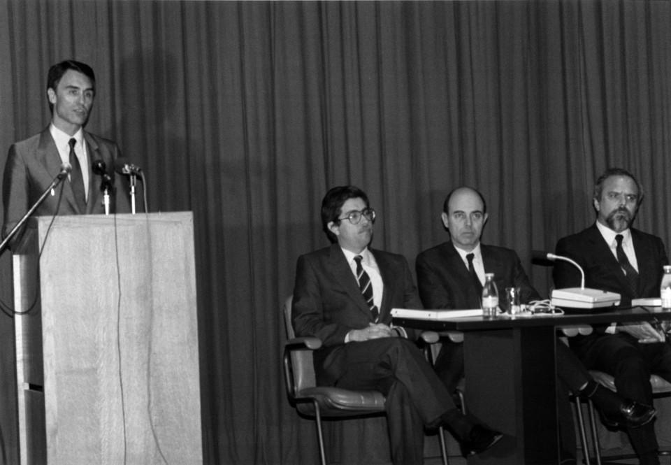 Fotografia PM Cavaco Silva Jornadas 87