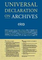 Imagem declaração universal sobre arquivos UNESCO