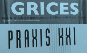 logotipos do Grices e Praxis XXI
