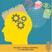 Imagem cartaz Encontro Arquivos Científicos 2014