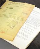Fotografia pormenor de documentos do ACT