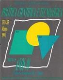 Imagem capa da publicação Política científica e tecnológica para os anos 90