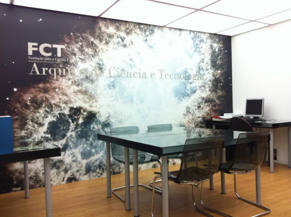 Fotografia sala de leitura do ACT