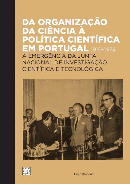 capa de livro sobre a junta nacional de investigação cientifica e tecnológica