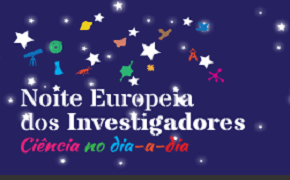 logotipo da noite dos investigadores