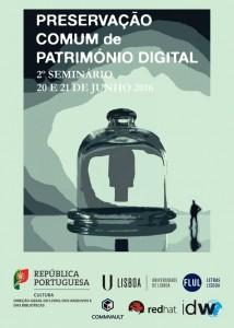 Cartaz do encontro sobre preservação comum de património