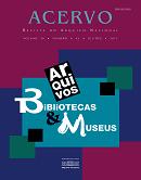 Imagem capa Revista Acervo 2013