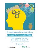 Imagem cartaz do Encontro Arquivos Científicos 2014