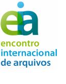 Imagem logotipo do Encontro Internacional de Arquivos 2014