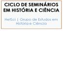Imagem Ciclo de seminários em História & Ciência 2012