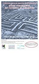 Imagem cartaz I Encontro Anual de Arquivos Contemporâneos 2012
