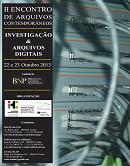 Imagem cartaz II Encontro de Arquivos Contemporâneos 2013
