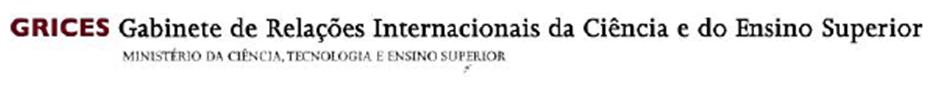 Logotipo da instituição de ciência GRICES